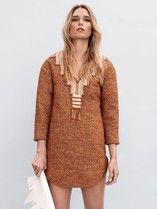ABRA - Hand woven dress