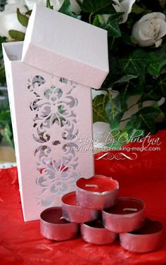 Spellbinders Lonely Hearts Strip Box
