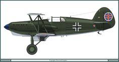 Avia B.534-IV Słowackie Siły Powietrzne 1939