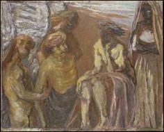Henryk Gotlib 'Rembrandt in Heaven', c.1948–58 © The estate of Henryk Gotlib