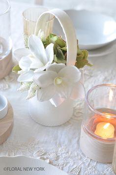 フォト:Table Decorating Ideas / Table Setting Ideas / テーブルコーディネート&テーブルスタイリング|スタイルのある暮らし It's FLORAL NEW YORK Style ~暮らしをセンスアップするフラワースタイリングで毎日を心豊かに、心地よく~-7ページ目