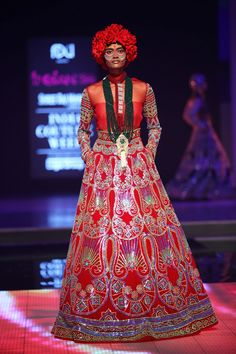 Manish Arora for Delhi Couture Week 2014.