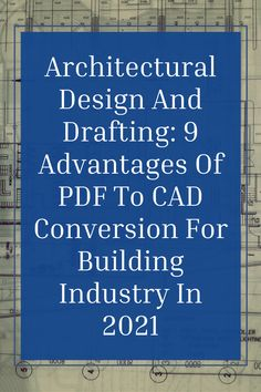 PDF to CAD conversion offers several advantages for the building industry, especially in case a remodeling, renovation or addition job is planned for an existing building. Let's take a look at the top advantages of PDF to CAD Conversion (Click on the link) #theaecassociates #pdfotcad #caddrafting #cadconversion #cadservices