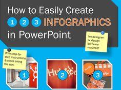 Learn how to easily create not one, not two, but three infographics in PowerPoint with this free template!