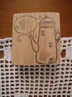 Rubber stamp  Teapot by LaCasuniTienda on Etsy, $30.00  #rubberstamp #packaging #handmade #etsy #lacasuni #valeriacis