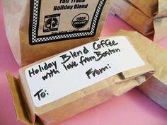 Stocking Stuffer Idea: <em>Mini Bags of Coffee</em><br /> <em></em>
