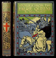 Stories from Edmund Spencer's Fairie Queene - pictorial cloth