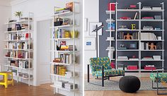 25 Bright Ideas for Incorporating Open Shelves into Your Space via Brit + Co.