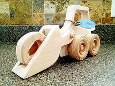 Push in legno giocattolo azione Bulldozer giocattolo di LikuGao