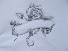 my friend asked me to try and come up with tattoo ideas, so this is the first of possibly a few tattoo idea - rose banner Feather Tattoos, Nature Tattoos, Rose Tattoos, Body Art Tattoos, Arm Tattoo, Rose Drawing Tattoo, Tattoo Design Drawings, Art Drawings Sketches, Prison Drawings