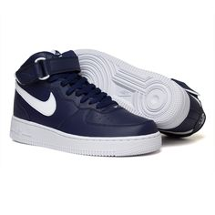 Nike Air Force Mid Midnight Navy 315123-407 - Maze Shop
