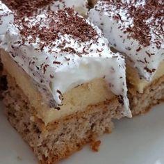Poppy Cake, Tiramisu, Nutella, Sweets, Cream, Ethnic Recipes, Dios, Italia, Hungary