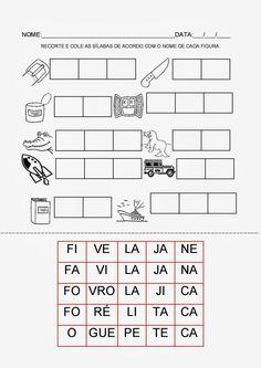 Espaço Professor: Pasta de atividades para trabalhar consciência fonológica                                                                                                                                                                                 Mais
