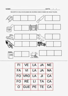 Espaço Professor: Pasta de atividades para trabalhar consciência fonológica