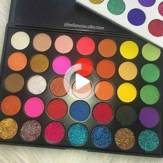 Blue Makeup, Skin Makeup, Eyeshadow Makeup, Makeup Cosmetics, Eyeshadow Palette, Yellow Eyeshadow, Simple Eyeshadow, Dark Makeup, Glitter Eyeshadow