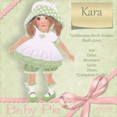 *BAby Pie* Kara Girls Toddleedoo Complete Outfit