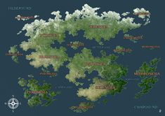 Dnd World Map, Fantasy World Map, Fantasy Places, Imaginary Maps, Create Your Own Adventure, Fantasy Concept Art, Fantasy Artwork, Dungeons And Dragons Homebrew, Environmental Art
