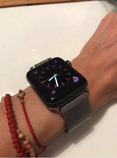 Cute Apple Watch Bands, Apple Watch Bracelets, Bracelet Watch, Rose Gold Apple Watch, Apple Watch Series 2, Stainless Steel Bracelet, Snapchat Stories, Winter Magic, Watches