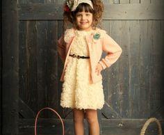 Pretty Little Lady Dress (Cream)