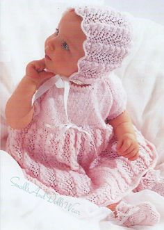ef4465e3e 94 Best Vintage Knit & Crochet Baby Patterns images in 2019 ...