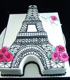 Eiffeltower Cake Custom Birthday Cakes, Adult Birthday Cakes, Custom Cakes, Eiffel Tower Cake, Queen Cakes, Special Day, Personalized Cakes, Personalised Cake Toppers, Birthday Cakes For Adults