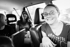 Picnicking in the car at the National Mall. July 4th, 2015.