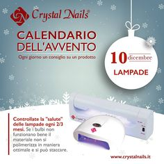 Calendario dell'avvento Crystal Nails - 10 dicembre - #lampade #crystalnails #nails #ricostruzioneunghie #christmas