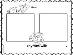 Image result for rhyming dust bunnies art projects templates
