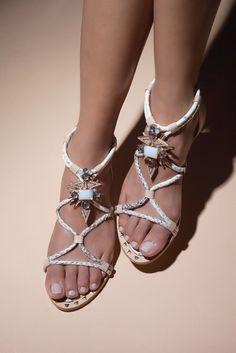 Ivy Kirzhner's bijoux sandals