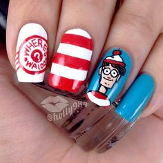 Where's Waldo? Nails