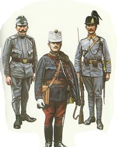 A portrait of Hungarian soldiers from the First World War #Hungarian #ww1 #army #military #infantry #history #art