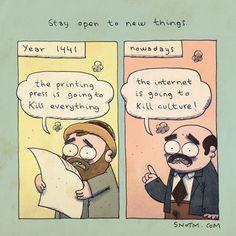 Esteja aberto a coisas novas.