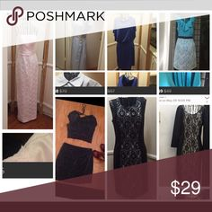 Bundle of 7. . See closet for details. Sizes vary Dresses