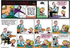 Bill Watterson created one of the most consistently enjoyable comic strips in history with Calvin and Hobbes. He's known as a bit of recluse, but his comic and his ideas had a big impact its readers. Let's take a look at a few of his tips explored both in the comic and outside of it.