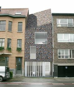 Rowhouse in Sint Amandsberg by CAAN Architecten Gent