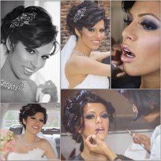 Bridal Make Up and Hair for Sahar Abadi , Utrecht , The Netherlands