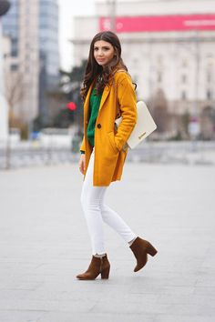 Mustard Boucle Knit Coat  # #The Mysterious girl #Fall Trends #Fashionistas #Best Of Fall Apparel #Coat boucle Knit #boucle Knit Coats #boucle Knit Coat Mustard #boucle Knit Coat Clothing #boucle Knit Coat 2014 #boucle Knit Coat Outfits #boucle Knit Coat How To Style