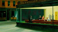 Realist Painter Edward Hopper Gets A Digital Update In These Animated GIFs | The Creators Project