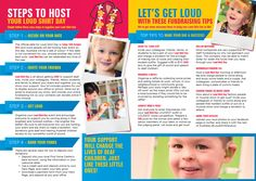 Loud Shirt Day Host Kit Booklet Inside  www.loudshirtday.com.au