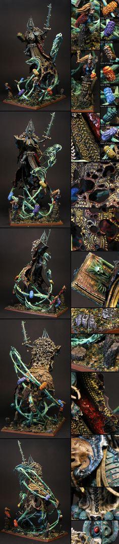 Warhammer Age of Sigmar Nagash Slavic Conversion Miniatures Painting
