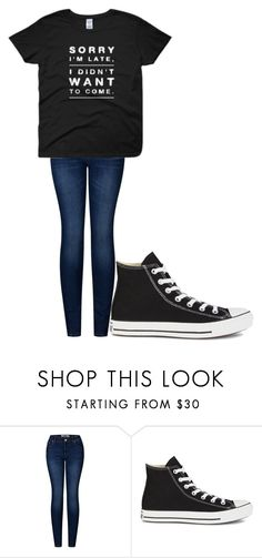 """""""Untitled #252"""" by cruciangyul on Polyvore featuring 2LUV and Converse"""