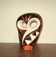 Vintage Navajo Native American Fetish Owl by thelittlegrasshut, $18.00