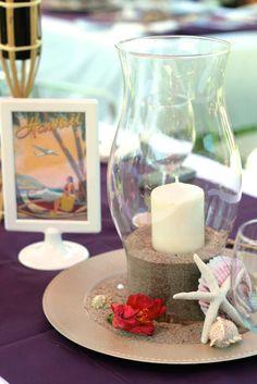 VIntage Luau Bridal Shower | CatchMyParty.com