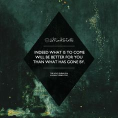 Quranic verse 93:4 #graphic #quran #islam #quote #muslim #hereafter #patience #sabr