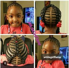 I'm definitely braiding my daughters hair like this.
