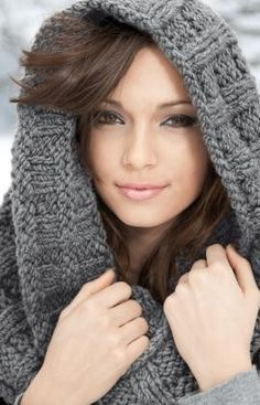 6a02570e07e3 cowl knitting pattern  knitting - Click image to find more DIY  amp  Crafts  Pinterest
