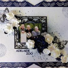 Tania's Creative Space: White With One......Majorca Blue December DT Reveal