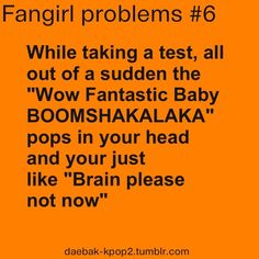 Yes, so true, but for mi this happen with every new kpop song..