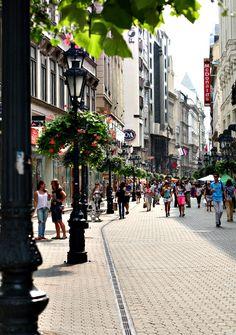 Váci Street, Budapest