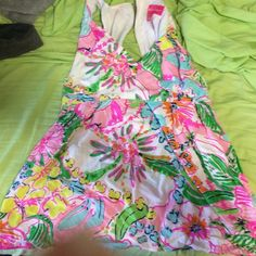 LFT tank! Not new but great condition!! Previous owner claimed there was some color running but I cannot find it for the life of me! So comfy and cute! Bundle and save w my LFT shorts! Lilly Pulitzer Tops Tank Tops
